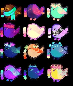 [ BIDDING CLOSED! ] Tweetles 17