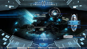 Starcraft 2 using rainmeter