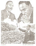 Martin Luther King by eazy101