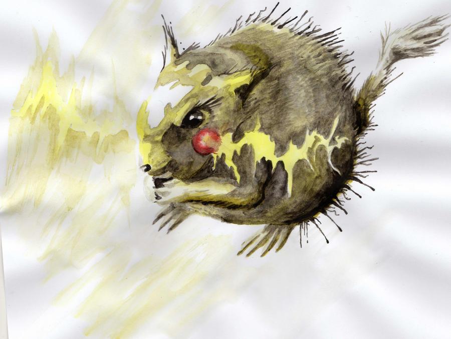 Pikachu, Pokemon Fan Art by micriise