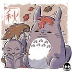 Autumn Totoro