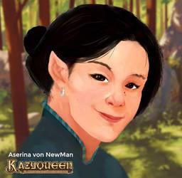Aserina von NewMan - Kazyqueen