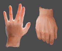 Hand Lightning practice