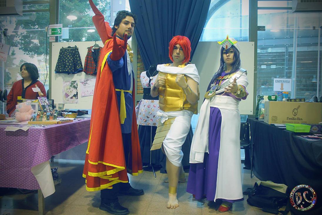 [MAGI]  King Sinbad and Masrur by uchiha3233itachi