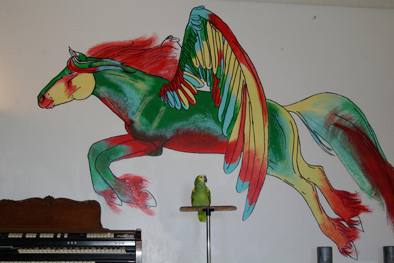wall mural amazon quetzaquine by paintedkaffe on deviantart