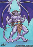 ACEO - Goliath 4 by KytheraOA