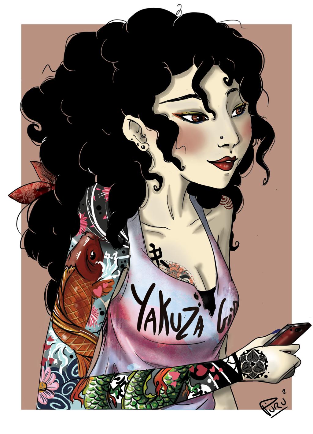Inked-babe by Puru2