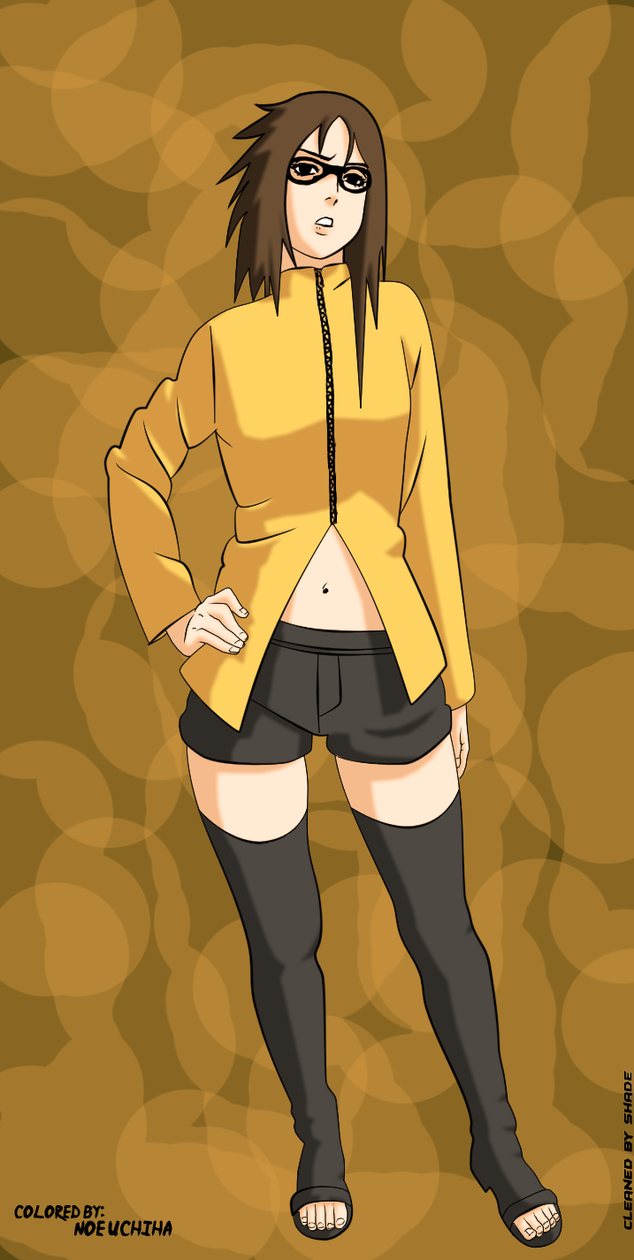 Naruto 348 colored -karin- by NoeUchihA