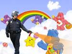 Pepper Spray the Care Bears