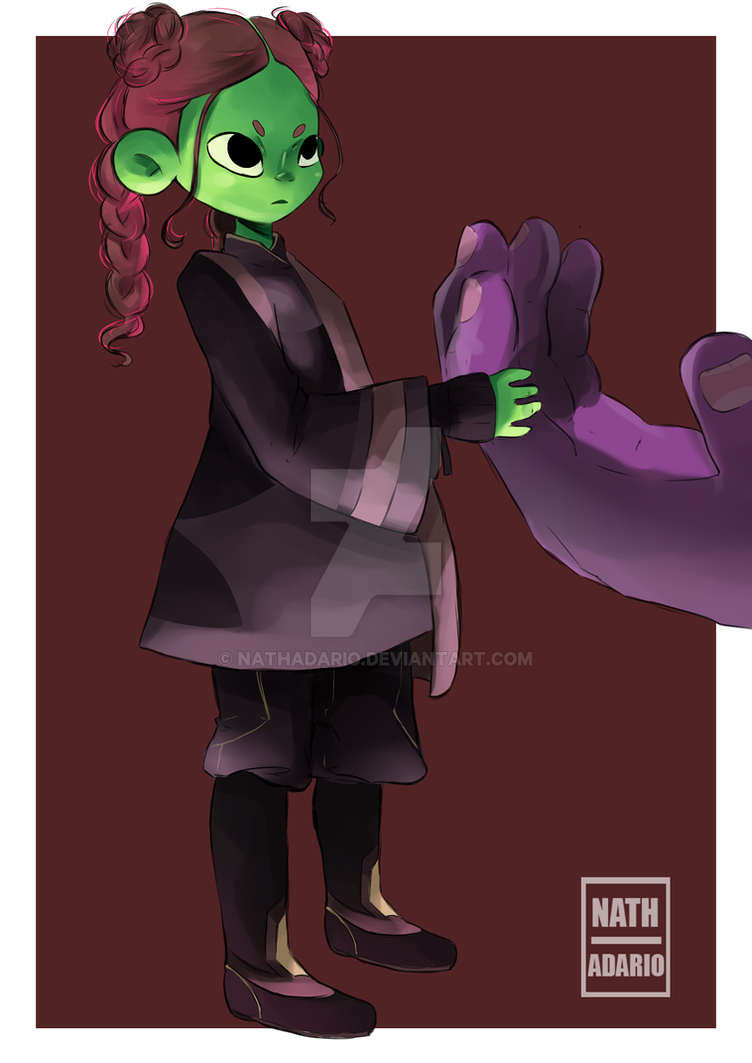 Gamora by nathadario