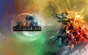 Final Fantasy Tactics Wallpape by kerokid
