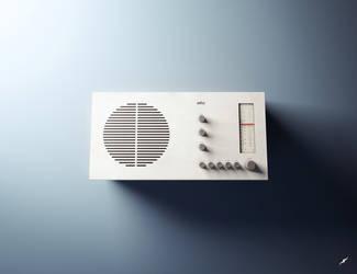 3D Braun Radio by neschas