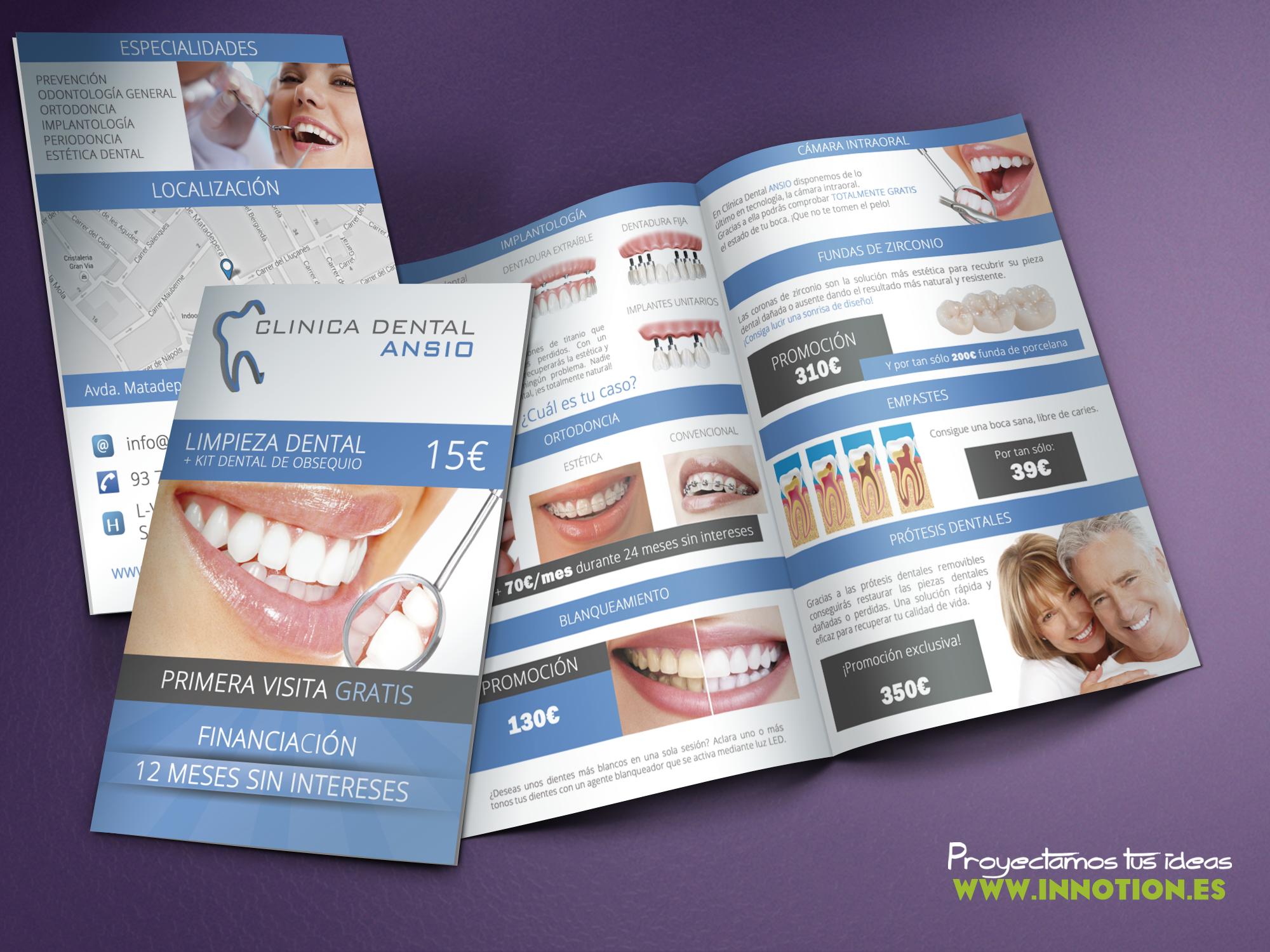 Folletos clinica dental ansio sabadell by adr1anazgz on - Clinicas dentales de diseno ...