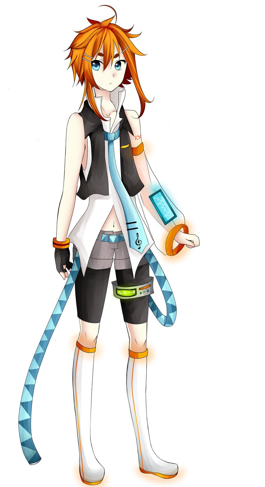 Shinzoune Reo's Full Design by ChiliChizu