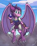 Crystal the Dragon
