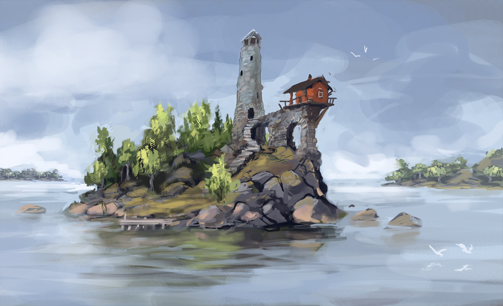 Island by jjnaas