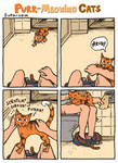 Purr-Meowing Cats - Bathroom by jjnaas