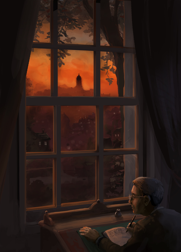 Haunter of The Dark by jjnaas