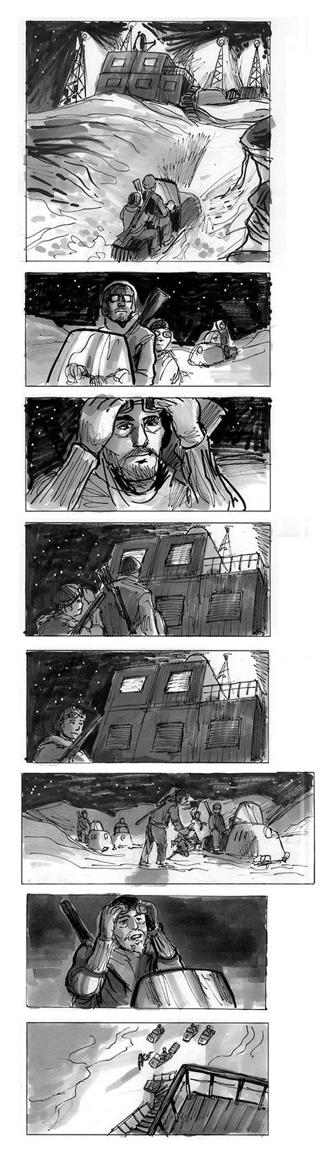 Rare Exports storyboard 1 by jjnaas