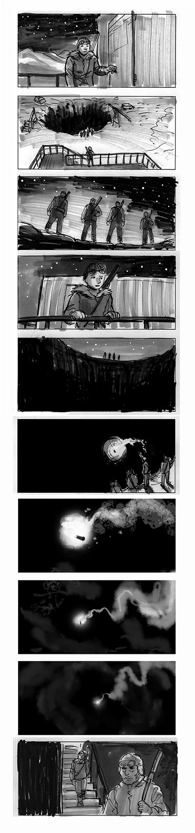Rare Exports storyboard 2 by jjnaas
