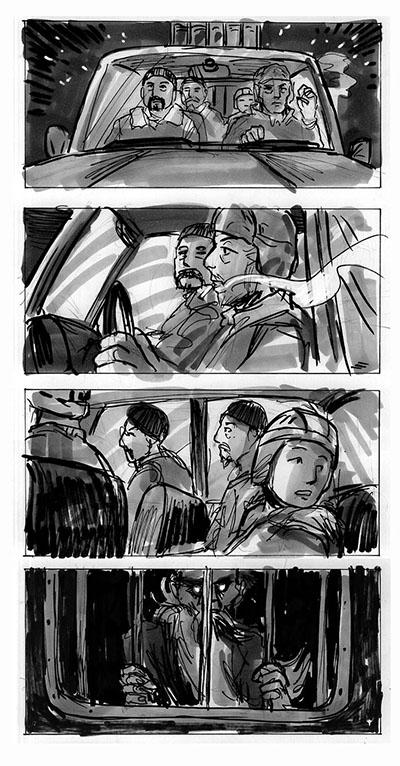 Rare Exports storyboard 4 by jjnaas