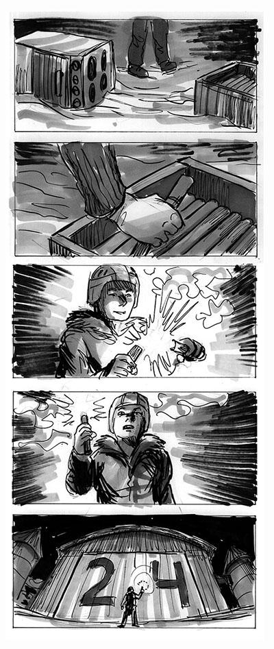 Rare Exports storyboard 5 by jjnaas