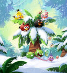 Angry Birds Pop! game art