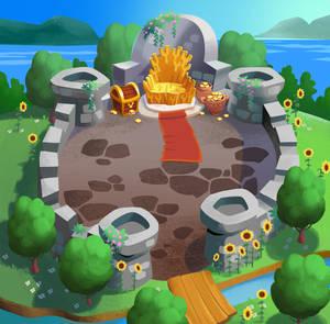 Throne Rush Map
