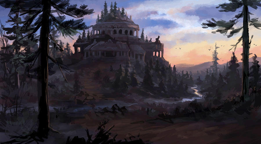 Forgotten Palace by jjnaas