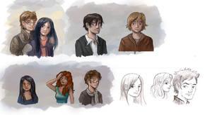 The Broken Mirror - Characters