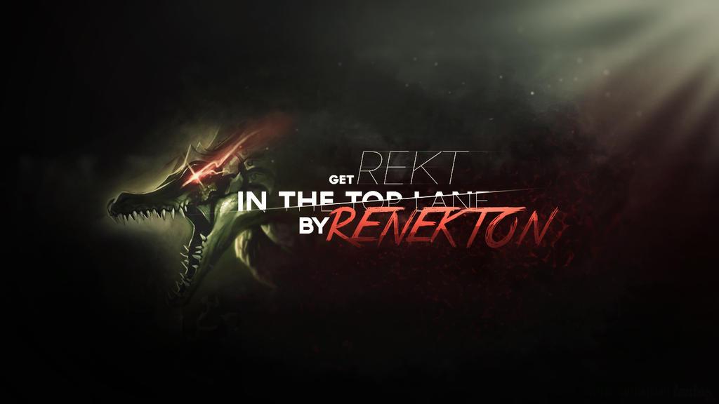 Renekton's wallpaper by tontufa on DeviantArt