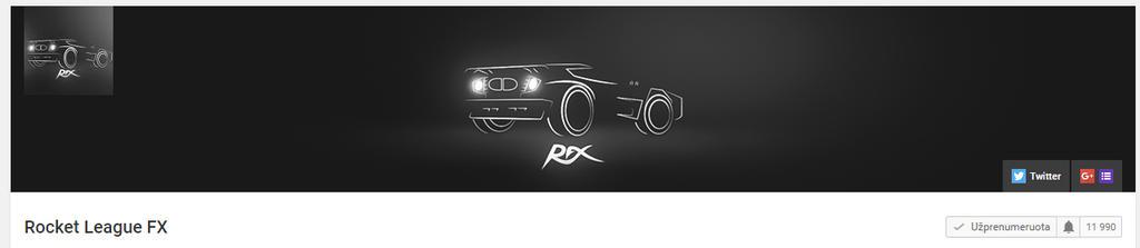 rocket league fx rfx illustration n logo by tontufa on