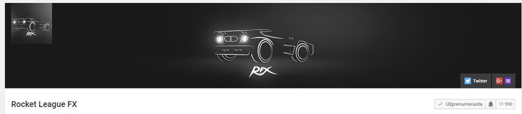 Rocket League FX (RFX) Illustration n Logo