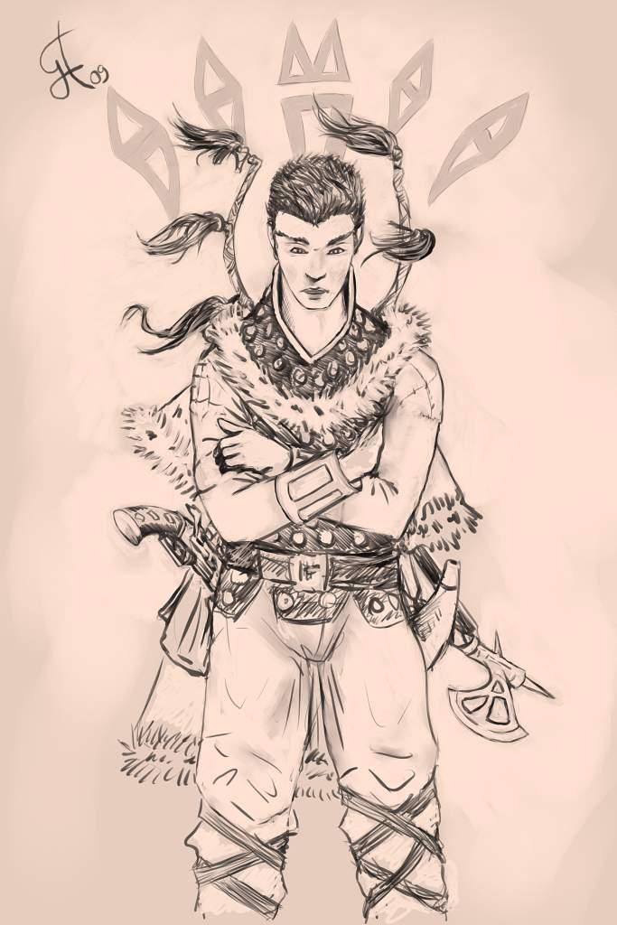 Kyrasannen Skirmisher by Mangalore