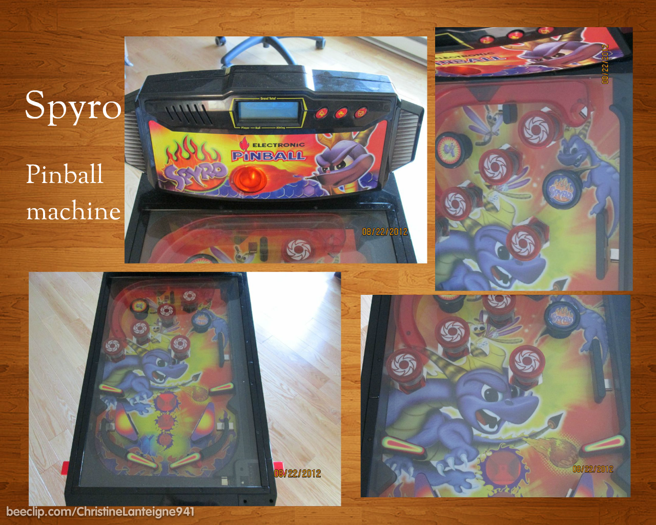 Ngarkat Images: Reviewing the Sony Tablet S - Part 2 Gaming |Pinball Top View
