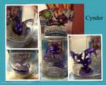 Cynder from skylanders