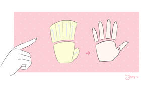 Hand Tutorial by Monyn