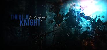 Thr blue knight by D-DesignsOfficial