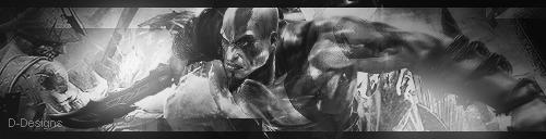 God of War [BnW] by D-DesignsOfficial