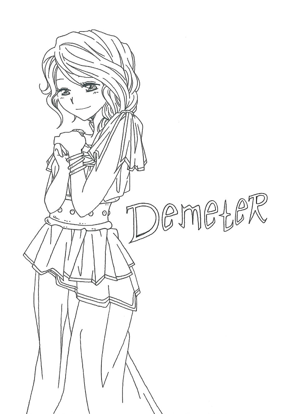 Uncategorized How To Draw Demeter myth 05 demeter by lily gardis on deviantart gardis