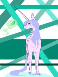 Unicorn by Mintatheena