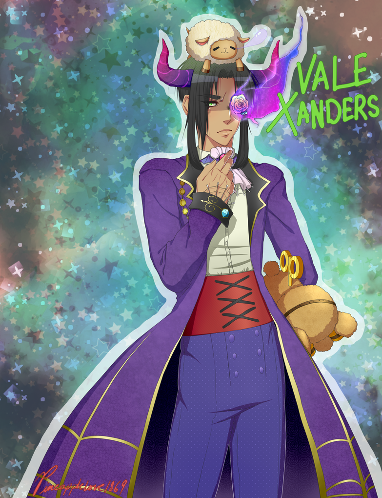 Halloween!Vale by Pineapplelove1869