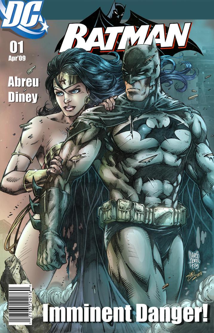 Batman Wonder Woman Color by MARCIOABREU7