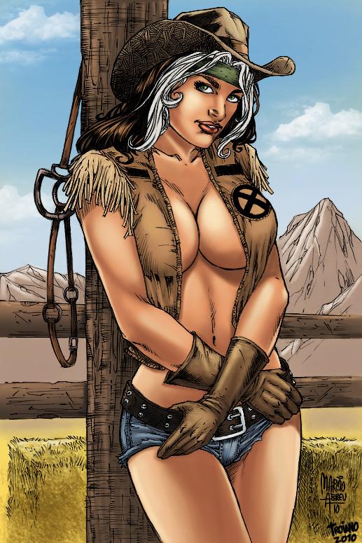 Cowgirl Rogue by MARCIOABREU7