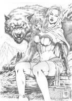 Red Riding Hood by MARCIOABREU7