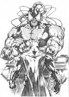 Batman x Bane by MARCIOABREU7