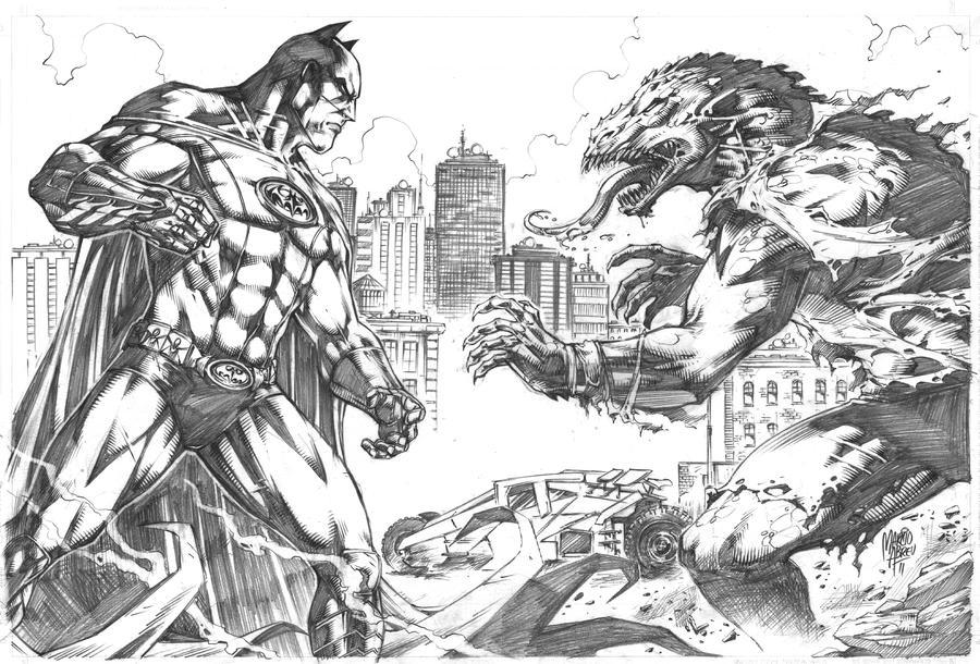 batman vs killer crocmarcioabreu7 on deviantart