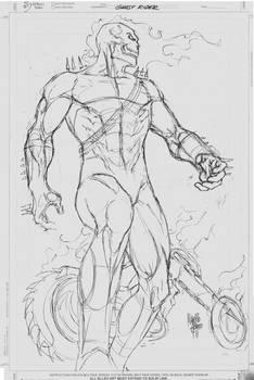 Sketch 01_Ghost Rider
