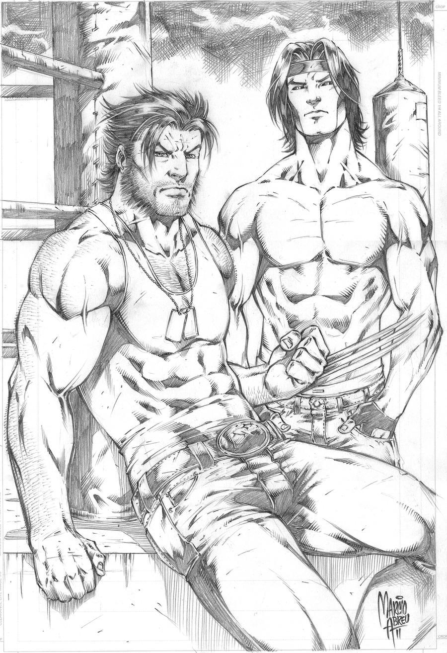 Társalgó    - Page 6 Wolverine_gambit_by_marcioabreu7-d4m3lt2