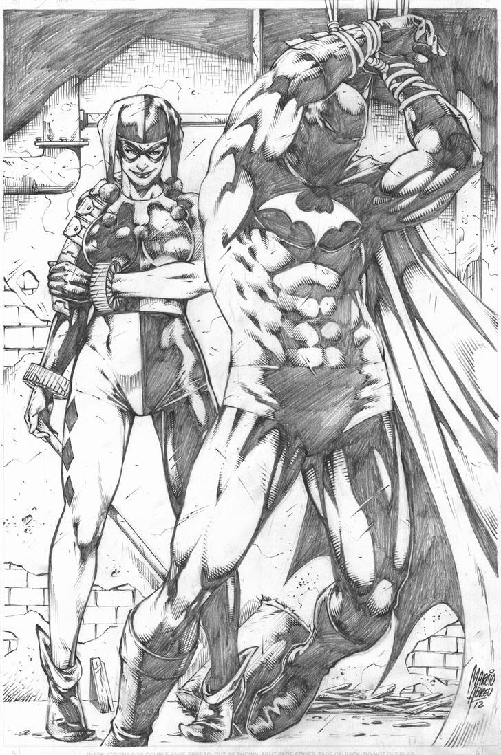 Batman_Arlequina by MARCIOABREU7
